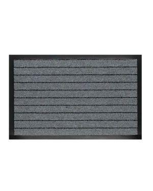 Zerbino asciugapassi alaska 60x90cm grigio velcoc 300301-GR_60971