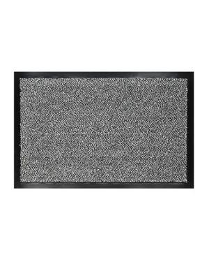 Zerbino asciugapassi nevada 60x90cm grigio velcoc 301834-GR_60974