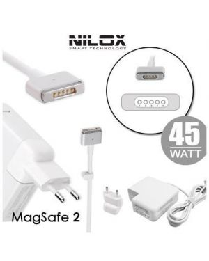 Alim compatibile apple magsafe2 Nilox NLX45W-AE12 8059616337149 NLX45W-AE12 by No