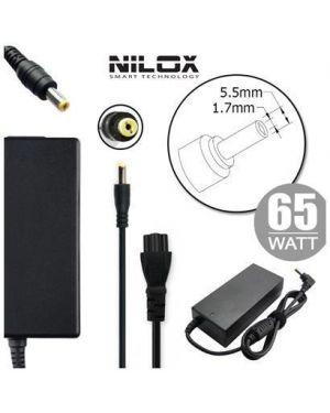 Alim acer 19v 3.42a 5.5 x 1.7mm Nilox NLX65W-AR07D 8059616337101 NLX65W-AR07D by No