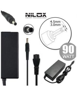 Alim hp 19.5v 4.62a 4.5 x 3.0mm Nilox NLX90W-HP37D 8059616337286 NLX90W-HP37D