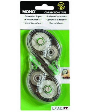 Blister 2 correttori a nastro 4mmx10m tombow mono PCT-YT4-2P 4901991585872 PCT-YT4-2P_61262 by Tombow