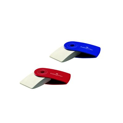 Gomma faber castell sleeve mini - 24 rosso blu pz. 24 FABER CASTELL 182411 9556089824156 182411_61278 by Esselte