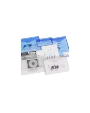 Pack 5 buste con bottone ice a3 trasparente 2101669_61612