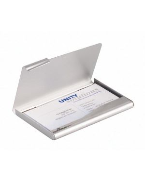 Porta biglietti visita in alluminio business card box 2415-23 4005546224404 2415-23_61641 by Durable