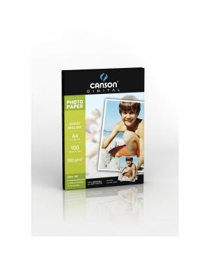 Carta inkjet a4 180gr 100fg photo glossy everyday canson 200004318 3148950043184 200004318_61668 by Canson