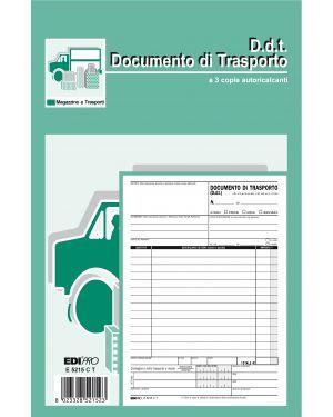 Blocco ddt 23x14,8cm 33fg 3 copie autoric. e5215ct E5215CT 8023328521523 E5215CT_61712 by Edipro
