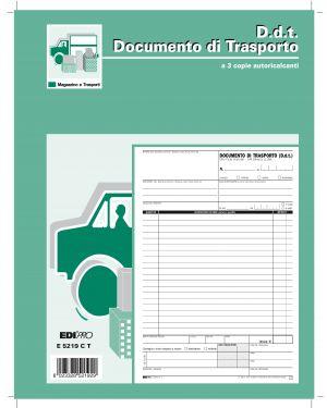 Blocco ddt 29.7x22cm 33fg 3 copie autoric. e5219ct E5219CT 61713 A E5219CT_61713 by Edipro