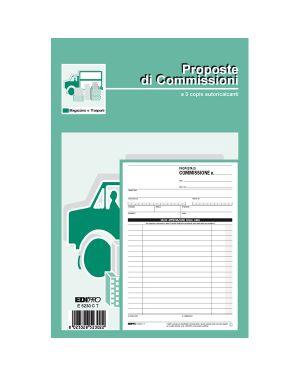 Blocco copia commissioni 23x15cm 33fg 3 copie autoric. e5230ct edipro E5230CT 8023328523022 E5230CT_61714 by Edipro