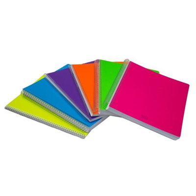 quaderno spirale a5 1r 70f fluo Scatto 976-1 8027217125632 976-1 by No