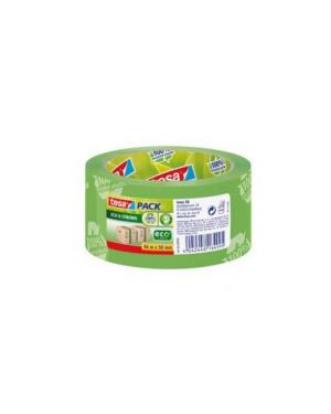 Nastro adesivo 50mmx66mt tesapack®ecostrong Confezione da 6 pezzi 58156-00000-00_61832 by Tesa