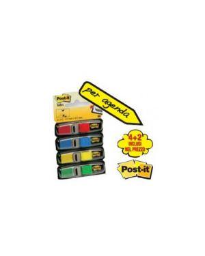 Pack 4+2 blister 140 index mini in 4 colori classici 30007_61851