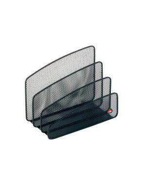 Sparticarte mesh in rete metallica nero alba MESHLETTER/N 3129710008940 MESHLETTER/N_61909 by Esselte