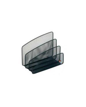 Sparticarte mesh nero in rete metallica alba MESHLETTER/N_61909 by Esselte