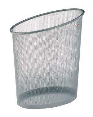 Cestino gettacarte 18lt mesh in rete metallica argento alba MESHCORB/M 3129710009039 MESHCORB/M_61920