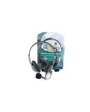 Rchetto con cuffie e microfono per pc em3561 eminent 486621459_62386 by No