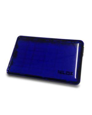 Box usb 3.0 2.5p blu trasparente Nilox DH0002BT 8059616337026 DH0002BT