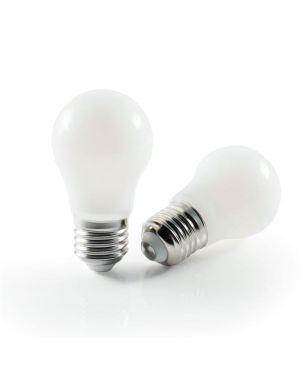 Led bulb e27 4w 4000 satin Nilox LNBLE27NW04W05 8056326621322 LNBLE27NW04W05 by No