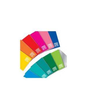 Maxiquaderno 210x297mm a4 20fg+1 80gr 4mm c/margine one color blasetti Confezione da 10 pezzi 1423_62963 by Esselte