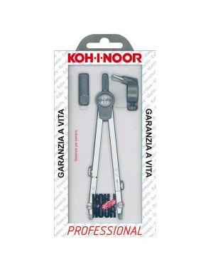 Compasso professional 155mm+allunga telescopica 3pz kohinoor H9109N 8014923005037 H9109N_63239 by Koh.i.noor