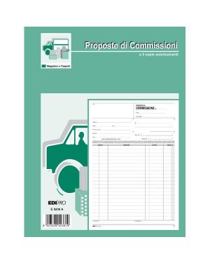 Blocco copia commissione 23x15cm 50fg 2 copie aurotic. e5229a edipro E5229A 8023328522919 E5229A_63273 by Esselte