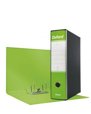 Registratore oxford commerciale dorso 8 verde lime ESSELTE 390783600 8004157783603 390783600_63413