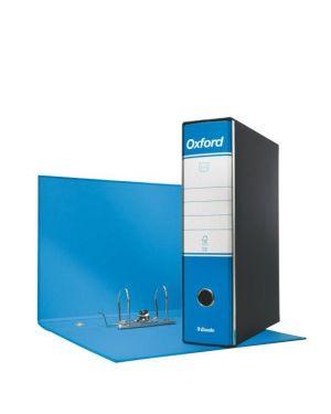 Registratore oxford commerciale dorso 8 azzurro ESSELTE 390783800 8004157783801 390783800_63414