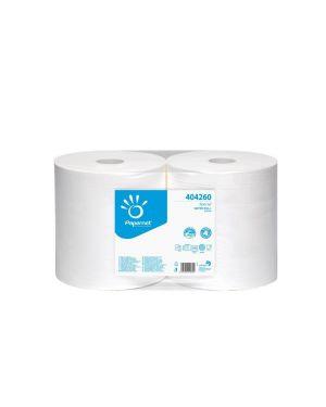 Rotolo 2 veli pura cellulosa 800 strappi pz.2 goffratura micro PAPERNET 404260 8024929442606 404260_63690 by Papernet