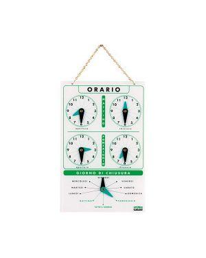 Cartello orario in acrilico art.4506 4506 8007509048009 4506_63695 by Lebez
