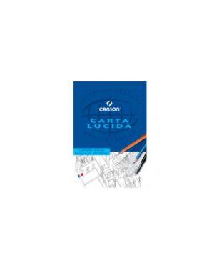 Blocco carta lucida manuale 230x330mm 10fg 80gr canson Confezione da 25 pezzi 200005826_63703 by Canson
