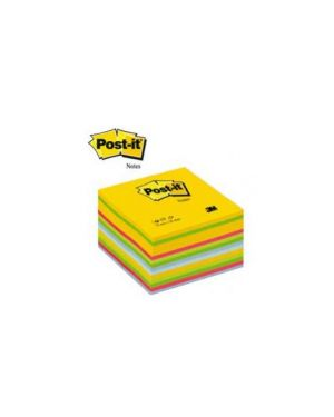 Blocco cubo 450foglietti post-it® 76x76mm 2030-u ultracolor 60252_64202 by Post-it