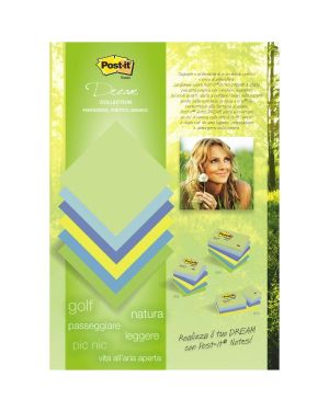 post-it 654-mtdr 76x76 Post-it 67602 4046719506392 67602_64212 by Esselte