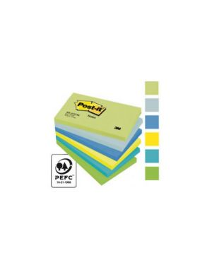 Blocco 100foglietti post-it® 76x127mm 655-mtdr dream 72gr assortito Confezione da 6 pezzi 67660_64213 by Post-it