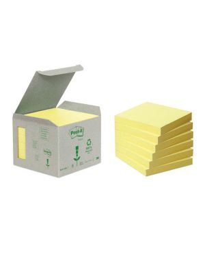 Blocco 100foglietti post-it®notes green 76x76mm 654-1b giallo ?654-1B 64221 A ?654-1B_64221 by Esselte
