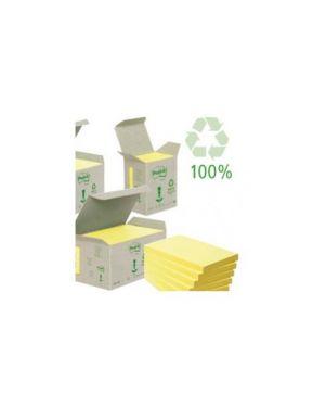 Blocco 100foglietti post-it®notes green 76x76mm 654-1b giallo Confezione da 6 pezzi ?654-1B_64221 by Post-it