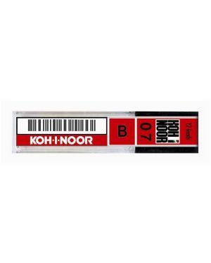 Astuccio 12 micromine 0,7mm b e207 kohinoor E207-B 8032173006024 E207-B_64251