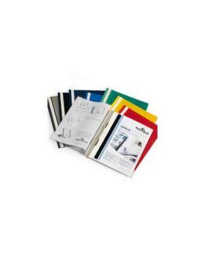 Cartellina a4 ad aghi personalizzabile blu duraplus 257 CONFEZIONE DA 25 2579-07_64404