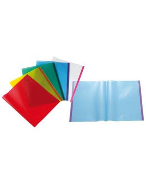 Coprilibro pvc goffrato trasparente rosso 50x31cm c - biadesivo 22010112 8004972700045 22010112_64576 by Esselte