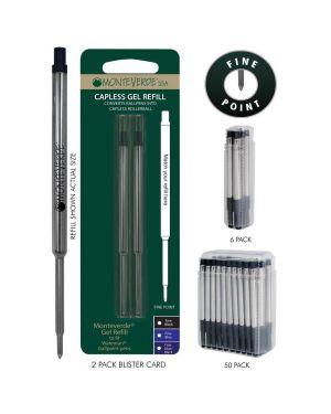 Blister 2 refill gel per sfera parker ® blu punta fine J241203 80333901816 J241203_64790