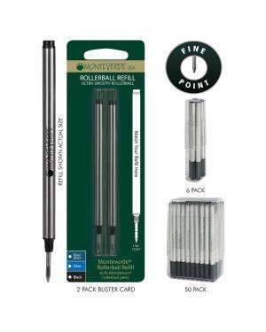Blister 2 refill in metallo per roller montblanc ® blu punta fine J232203 80333884324 J232203_64799