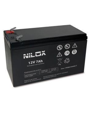 Batteria ups 12v 7ah Nilox 17NXBA7A00001T 8059616337910 17NXBA7A00001T