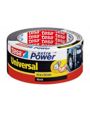 Nastro adesivo 25mtx50mm nero tesa® extra power universal 56388-00001-07 4042448033284 56388-00001-07_64993 by Tesa