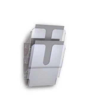 Display da muro con 2 tasche a4 trasparente flexiplus durable 1709008400 7318089008408 1709008400_65237