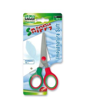 Forbici snippy soft 13cm punta tonda 4512 lebez 4512 8007509045121 4512_65657 by Lebez