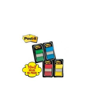 Promo pack 10+2 post-it index 680 colori ass. 23807_66711 by Esselte
