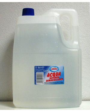 Acqua demineralizzata 5lt amacasa 2H.5004 8004393120057 2H.5004_66894 by Scric