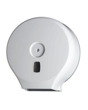 Distributore carta igienica in rotoli minijumbo bianco basic 104001 8033433770594 104001_67488