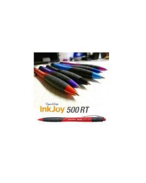 Penna sfera scatto inkjoy 500rt blu 1.0mm papermate Confezione da 12 pezzi S0959990_67584