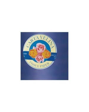 Busta 26fogli 50x70cm carta velina gr31 blu sadoch KV106462_67637