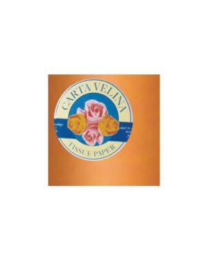 Busta 26fogli 50x70cm carta velina gr31 arancio sadoch KV106320_67646